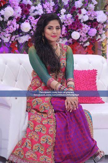 Punjabi Cute Girl Wallpaper Sanam Baloch On Eid Pakistani Celebrities Pinterest