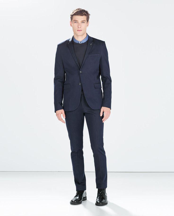 Image 1 of INDIGO SUIT from Zara