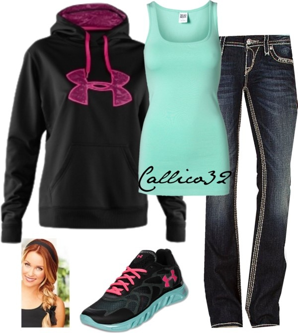 """Under Amour #3"" by callico32 on Polyvore"
