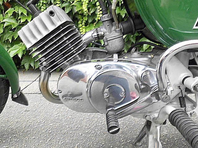Simson S 50 B 1 im absoluten Top - Zustand
