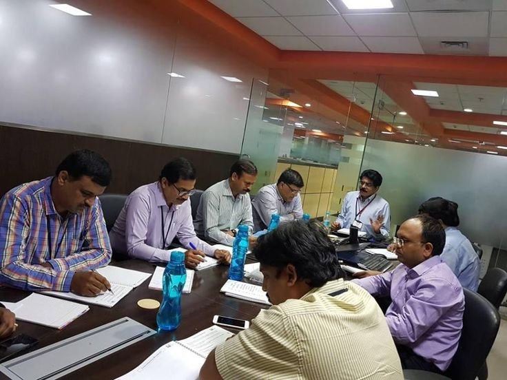 Advance Innovation Group Recently concluded PMP batch in @Hyderabad