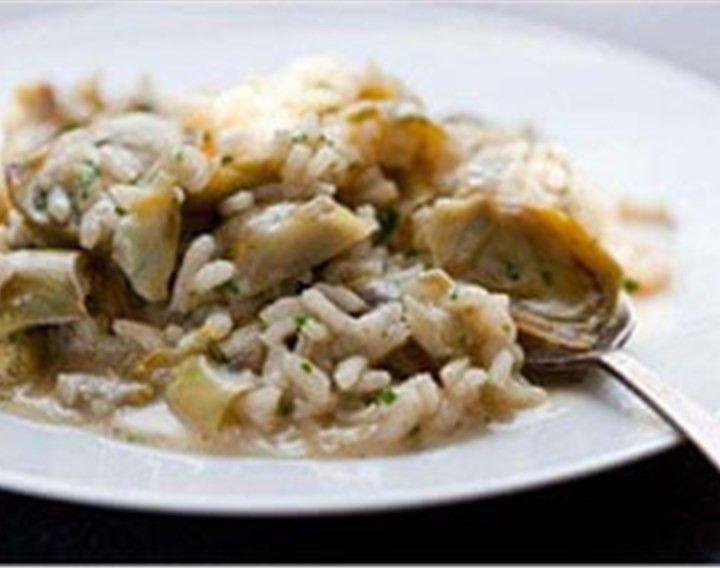 Risotto carciofi e seitan - Natura Nuova - Polpe di Frutta e Gastronomia Vegetale