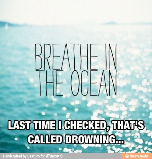 Breathe in the ocean / iFunny :)