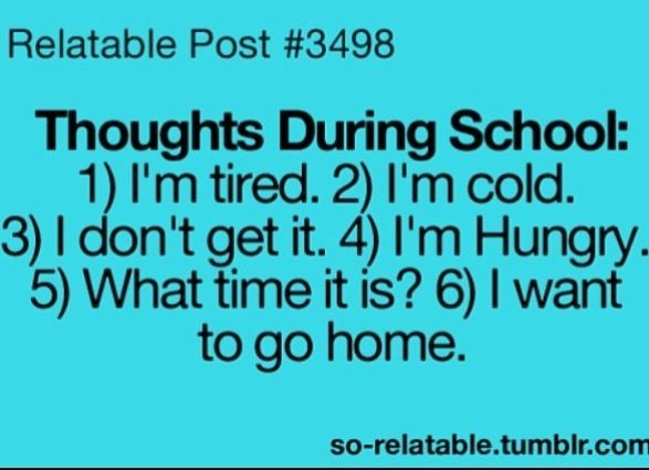 Quotes About High School Life Tumblr relatable posts...