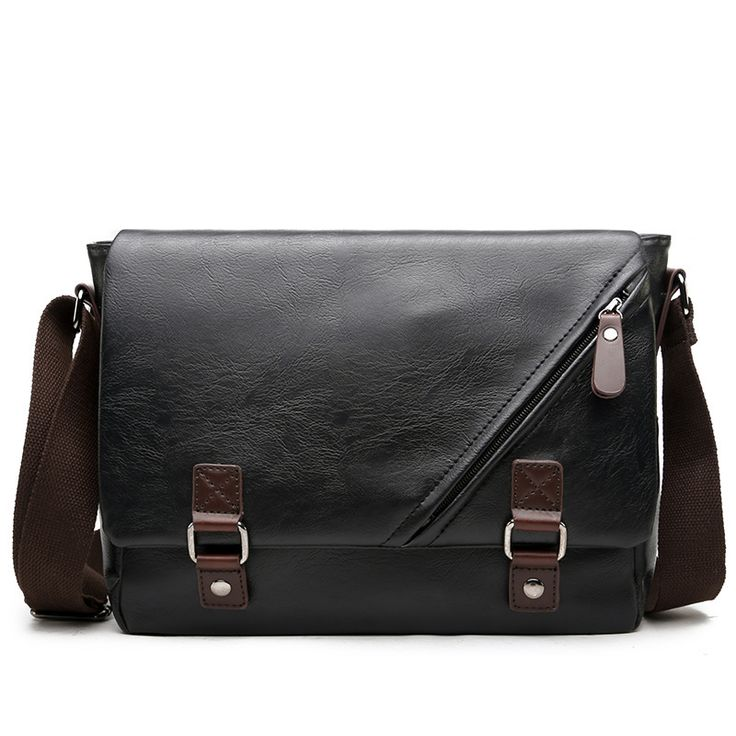 <b>Luxury Brand Leather Men</b> Bag Casual Business Messenger Bag for ...