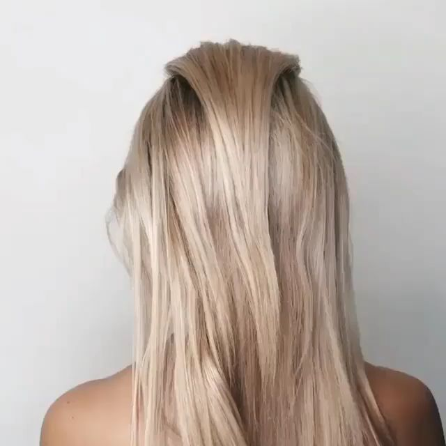 Here's a tutorial of a Basic/Classic French Braid. If you master this style, you can pretty much learn & master any other, more intricate styles as well, where a french braid is the basis of the style. #hairstyle #hairstyles #frenchhairstyles