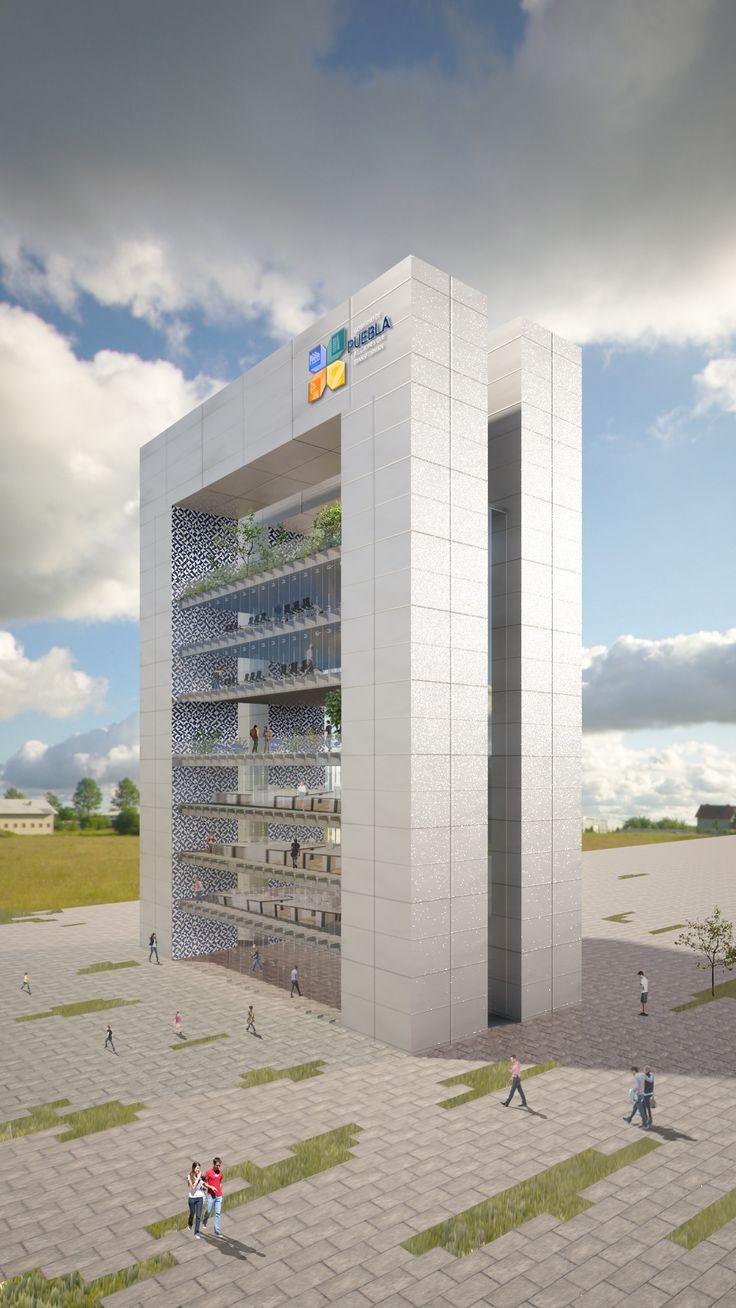 Edificio de la Universidad Tecnológica Bilingüe Internacional Sustentable