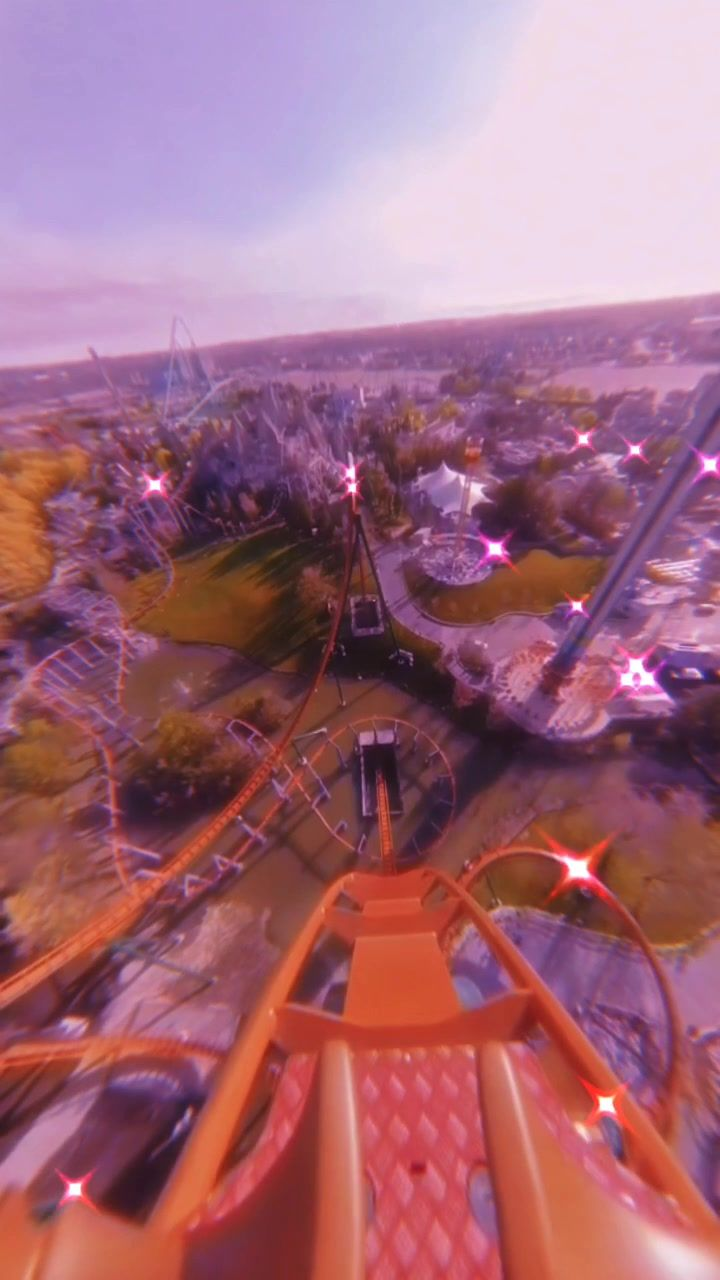 It S Safe Here Rollercoaster Relaxation Has Created A Short Video On Tiktok With Music What If I Told You Roller Coaster Estetika Instagram Estetika Langit