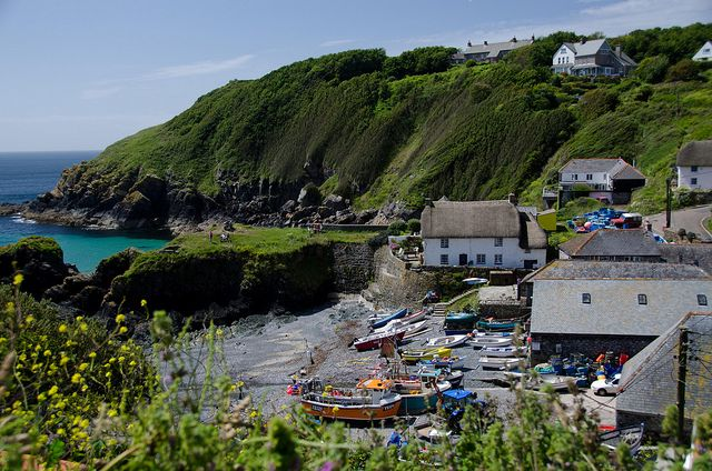 Cadgwith Cove is one of my favourite places. Cadgwith is a traditional English fishing village.