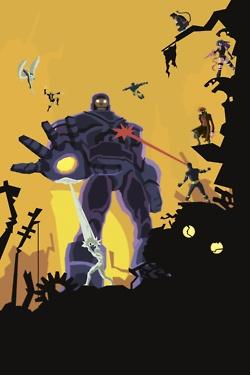 X-Men Iron Giant Sentinel inspired