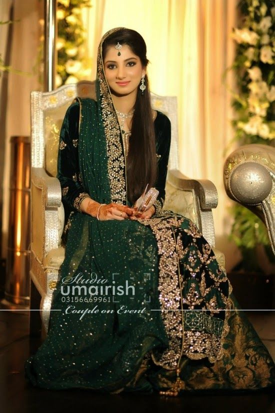 Latest Beautiful Pakistani Engagement Dresses for Girls for year 2014-15 | The Trendies