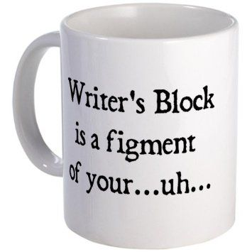writers block mug #funny #humor #gift
