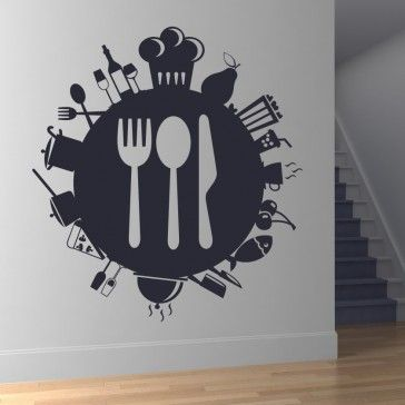 41 best dining room wall stickers images on pinterest
