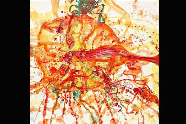 The Bouillabaisse, 2009. Artist: John Olsen. Mixed media on paper.