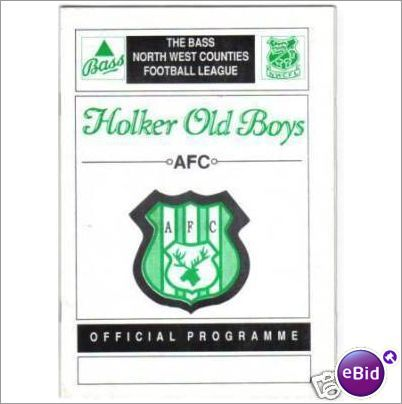 Holker Old Boys v Formby 21/09/1991 Non League Football Programme Sale