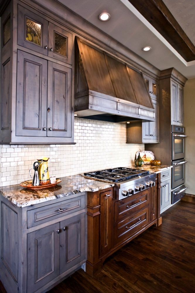 Kitchen Hood, Kitchen Cabinetry, Kitchen Cabinets, Knotty Cherry Cabinetry,  Knotty Cherry Cabinets