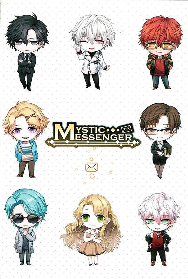 Y'all have been warned. Continuation of this post if you want to find more official info of the characters of Mystic Messenger from the newly-restocked RFA VIP Package. There are a lot of images under...