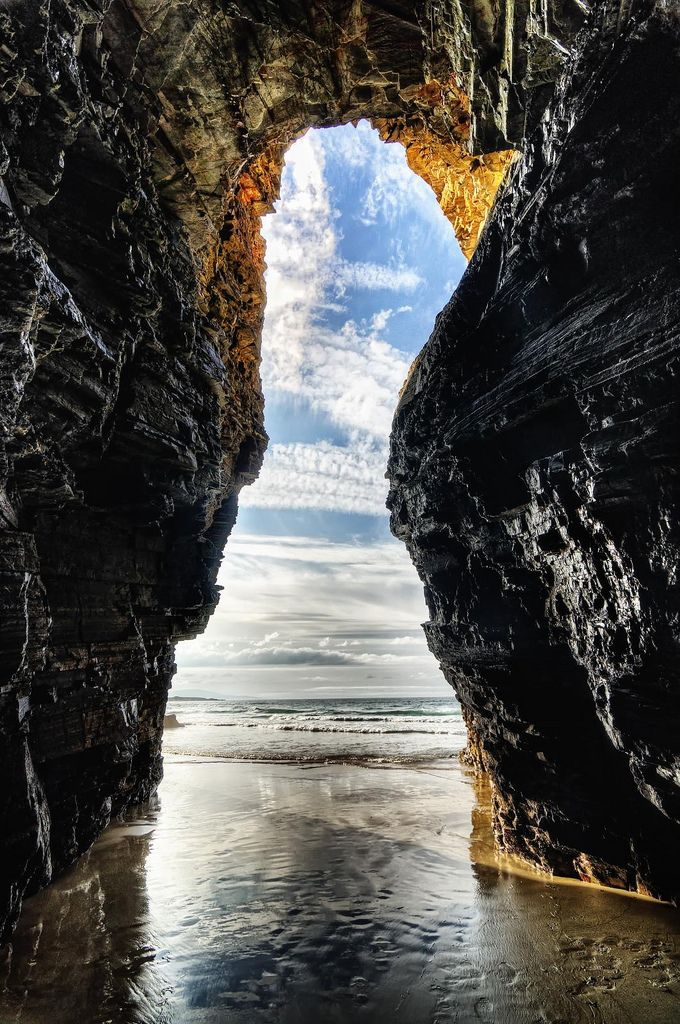 Playa de Las Catedrales  - Explore the World with Travel Nerd Nici, one Country at a Time. http://TravelNerdNici.com