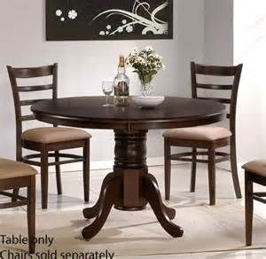 Round Dining Room Table Can Also Be A Foyer Too