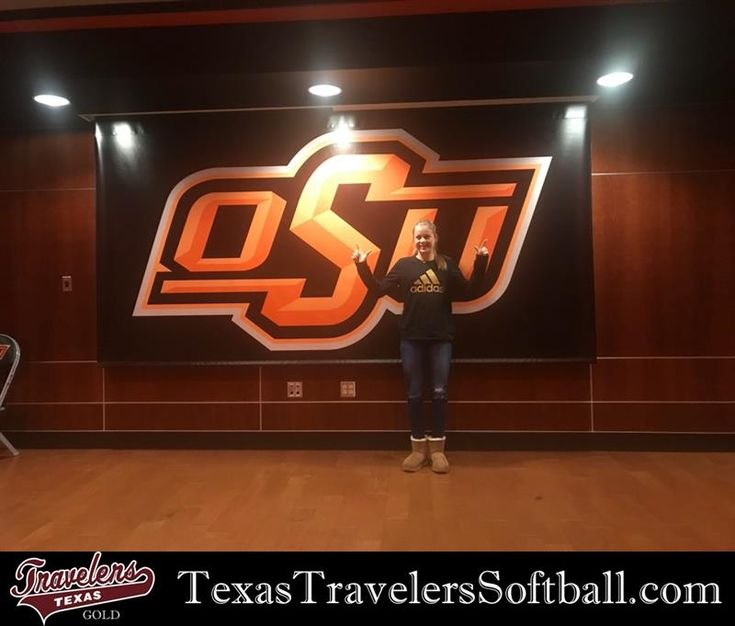 Friday, February 2, 2018 - Short-stop, Kaydee Bennett, commits to play softball for Oklahoma State University after her 2022 high school graduation. Oklahoma State University  is a nationally ranked NCAA Division I softball program, participating in the Big 12 Conference. The university provides amazing post-secondary academic opportunities and is located in Stillwater, Oklahoma.
