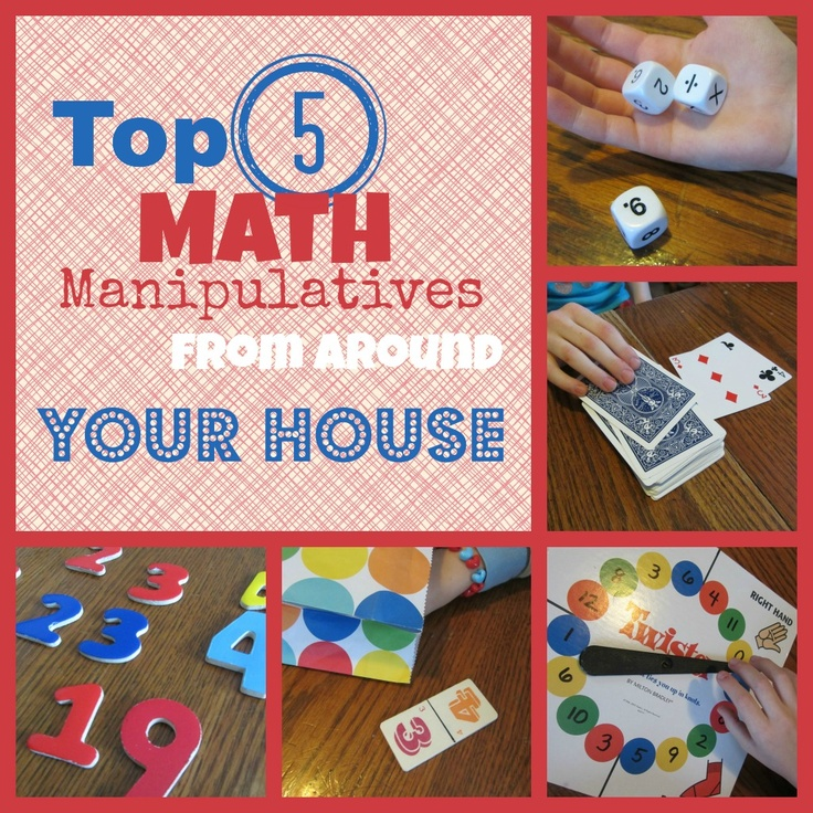 best 25 math manipulatives ideas