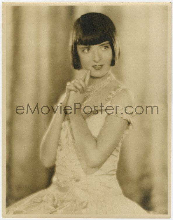 eMoviePoster.com: 1d086 COLLEEN MOORE deluxe 11x13.75 still '20s wonderful close portrait with her hands clasped!