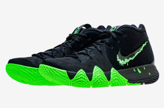 save off 11eba 5ae17 The Nike Kyrie 4 Halloween Comes Dipped In Slime | Dr Wongs ...