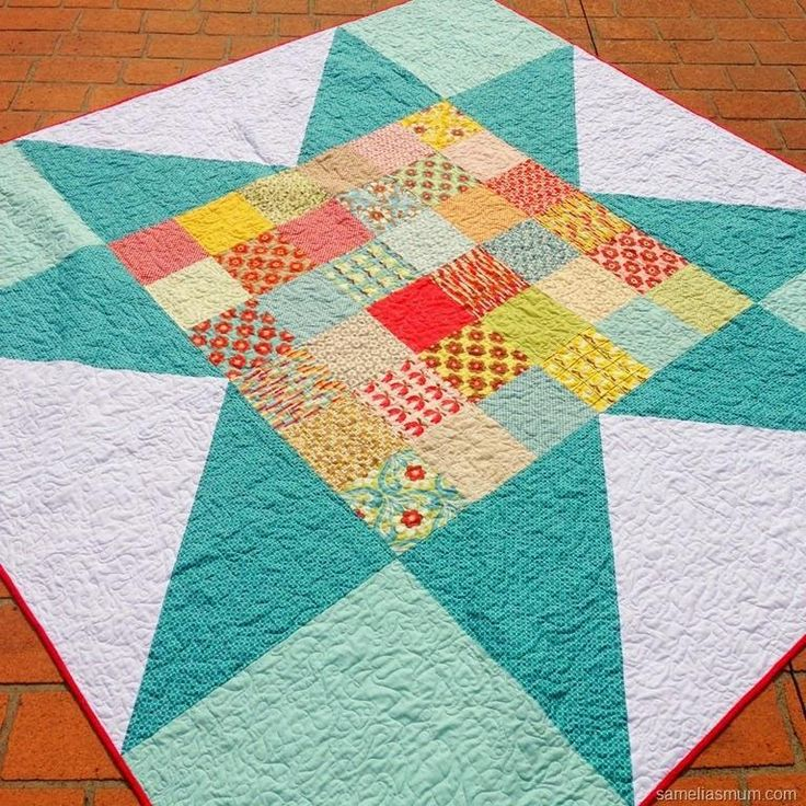 How would you like to sew a quilt in 24 hours? These quilt-in-a-day patterns are great for beginners and experienced quilters looking for a fast project!