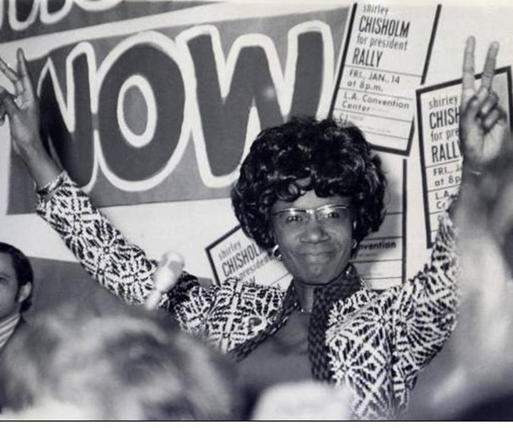 shirley chisholm paper The los angeles times, january 4, 2005  death of shirley chisholm  1st  african american woman  elected to united states congress page 10 of  section.