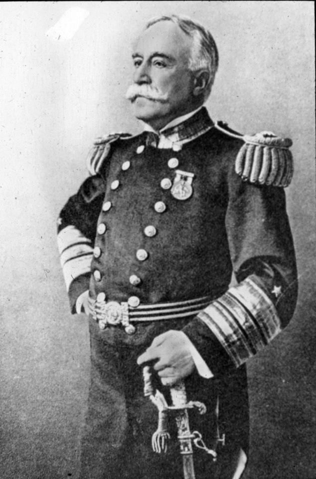 George Dewey (December 26, 1837 – January 16, 1917) He is best known for his victory at the Battle of Manila Bay during the Spanish-American War. He attended Norwich University from 1851 to 1854 transferring to the U.S. Naval Academy at Annapolis, MD. He graduated from the Naval Academy in 1858.