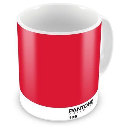 Caneca Porcelana Personalizada Pantone 186
