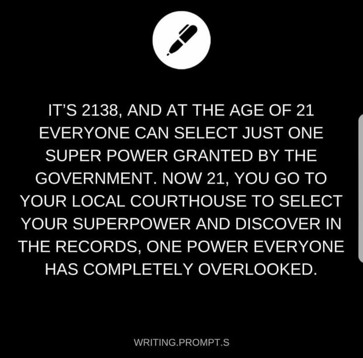 The power to have all powers...