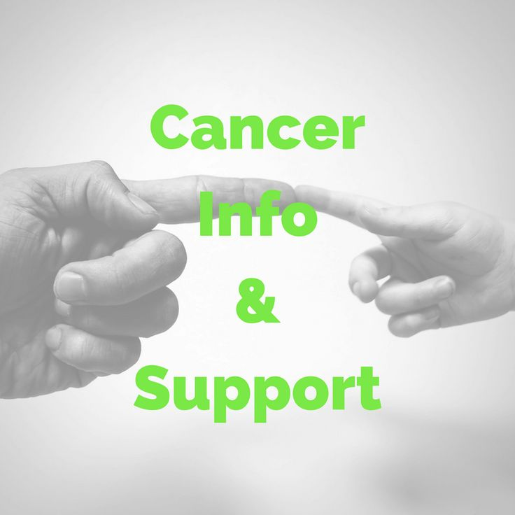 cancer information, resources, tips & support