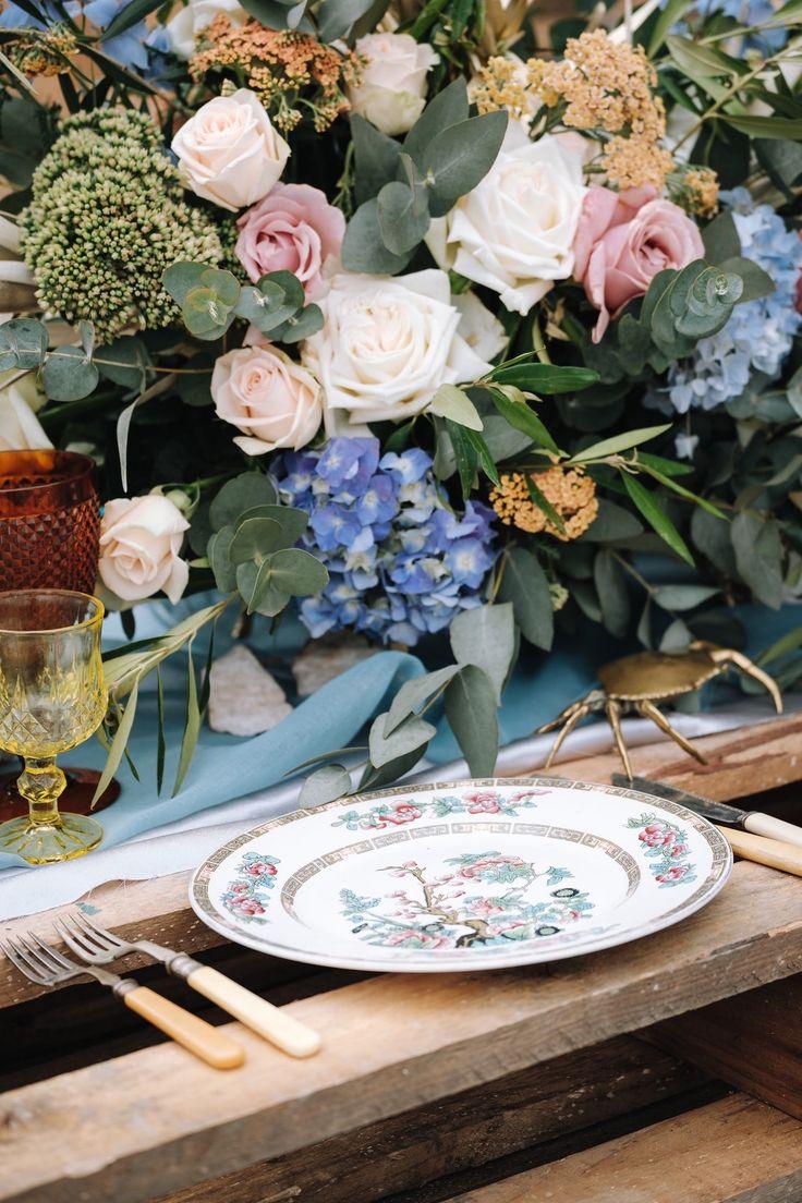 Boho Luxe Vintage Place Setting | Atmospheric Wedding Inspiration