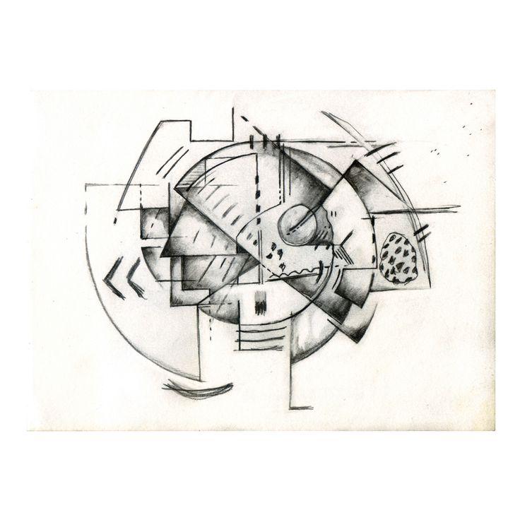 Penny Rimbaud Renaissance Drawing #3
