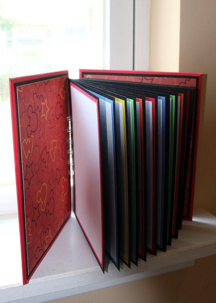 Multi mat Homemade Cardstock With Binding Autograph Books