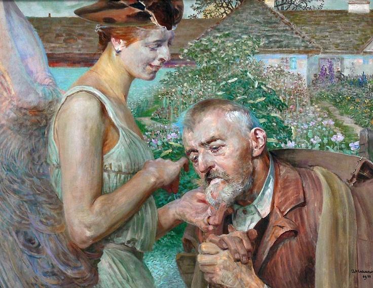 Galeria w Rogalinie - zbiory Edwarda Raczyńskiego.