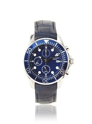 81% OFF Rudiger Men's R2001-04-003L Chemnitz Blue IP Chronograph Watch