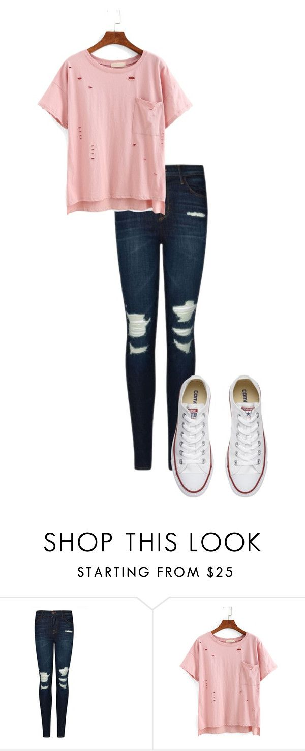 """""""Untitled #72"""" by kbwalrus on Polyvore featuring J Brand and Converse"""