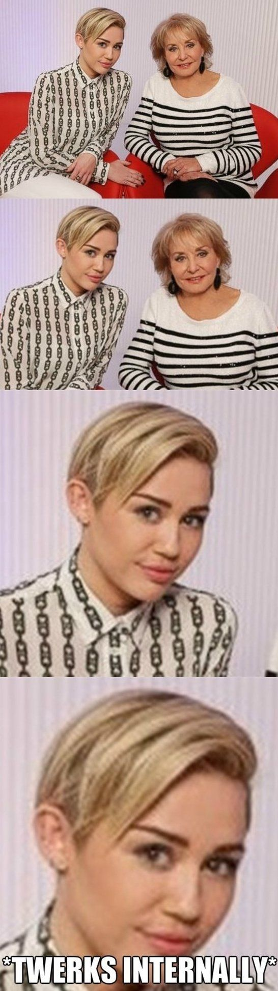 When Miley Is Not Twerking - www.meme-lol.com