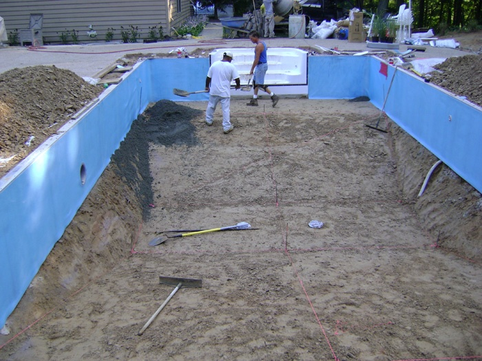 17 best images about swimming pool kits construction on pinterest dubai polymers and swimming for Vermiculite swimming pool base