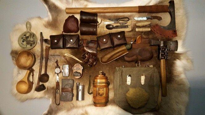 Bushcraft kit life on the wild side pinterest for Backpacking fishing kit
