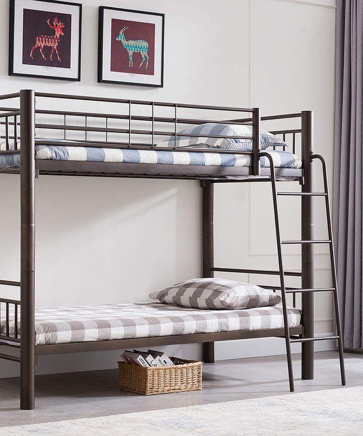 Pewter Metal Bunk Bed Scandinavian Interior Design Scandinavian Interior Metal Interior Design Loft Bunk Beds Metal Bunk Beds