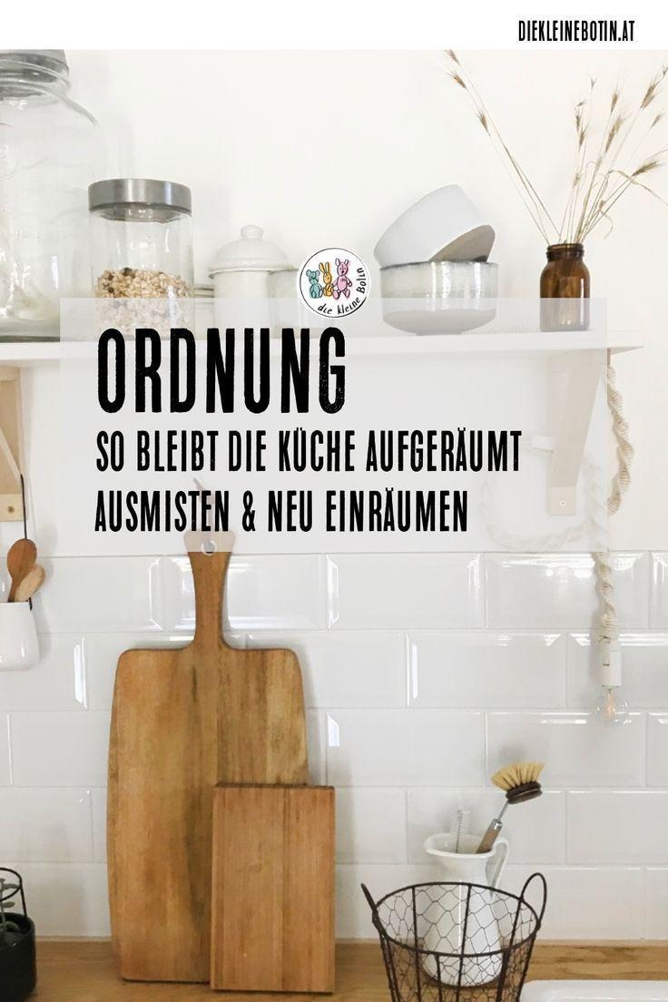 Kuche Ausmisten Ausmisten Kuche Kitchen Interior Kitchen Remodel Life Hacks Cleaning