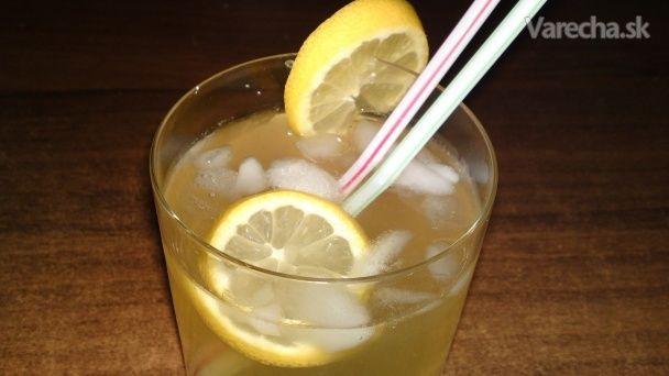 Zázvorovo-citrónová limonáda s karamelom (fotorecept)