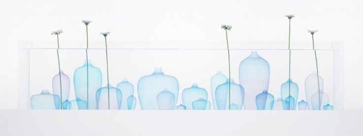 Milan: Jellyfish vase by Nendo