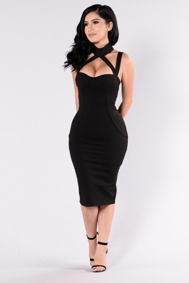 Evil Queen Dress - Black