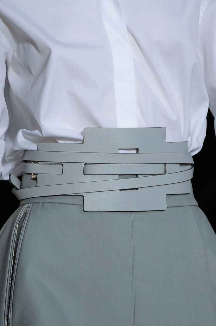 belt | Tod'S S14  i really like this. it could symbolize so many things, and goes along with my concept of self love