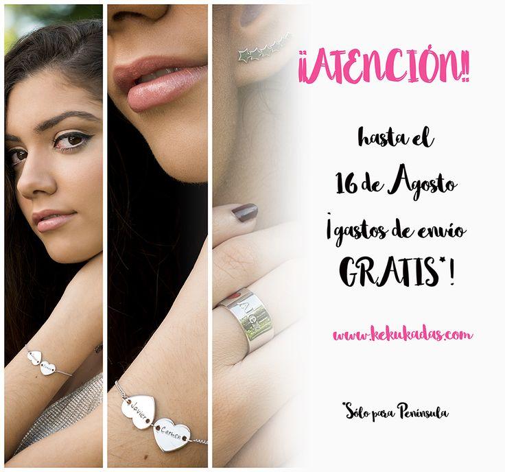 ¡¡FELICIDADES ABUELOS!! 🎁¿Aún no tienes tu regalo especial? 🎁 ¡¡Ahora es el momento!!  ¡En Kekukadas nos hemos vuelto locos!. Hasta el 16 de Agosto los gastos de envío te salen GRATIS. Entra en nuestra shop y elige tu complemento más exclusivo. ¡Personalízalo a tu manera! #joyeríapersonalizada #regalospersonalizados  #regalo #shop #joyas #jewels #accesories #fashion 🌟 www.kekukadas.com 🌟