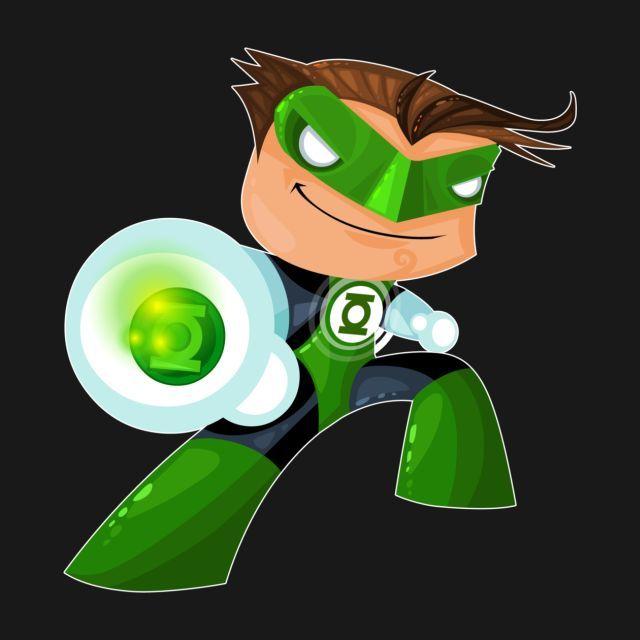 GREEN LANTERN T-Shirt - Superhero T-Shirt is $14 today at TeePublic!